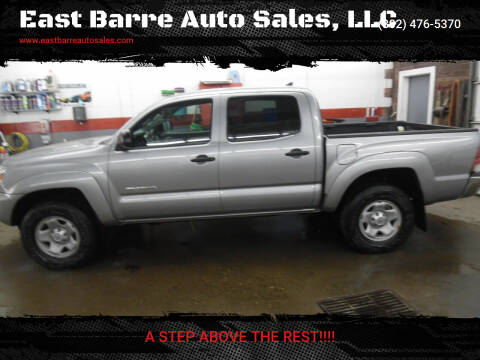 2015 Toyota Tacoma for sale at East Barre Auto Sales, LLC in East Barre VT