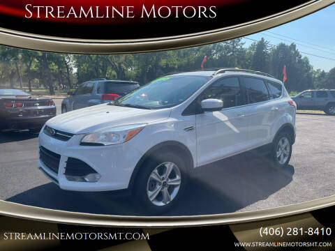 2013 Ford Escape for sale at Streamline Motors in Billings MT
