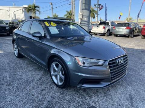 2016 Audi A3 for sale at Brascar Auto Sales in Pompano Beach FL