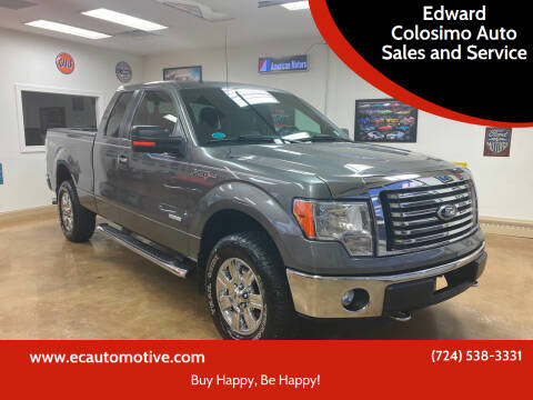 2012 Ford F-150 for sale at Edward Colosimo Auto Sales and Service in Evans City PA