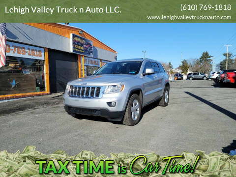 2012 Jeep Grand Cherokee for sale at Lehigh Valley Truck n Auto LLC. in Schnecksville PA