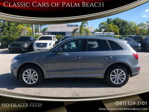 2013 Audi Q5 for sale at Classic Cars of Palm Beach in Jupiter FL