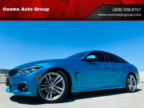 2018 BMW 4 Series for sale at Cosmo Auto Group in San Jose CA