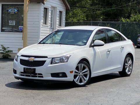 2013 Chevrolet Cruze for sale at Kugman Motors in Saint Louis MO