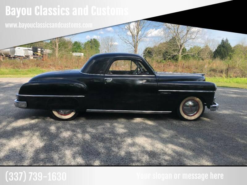 1950 Dodge Wayfarer for sale at Bayou Classics and Customs in Parks LA