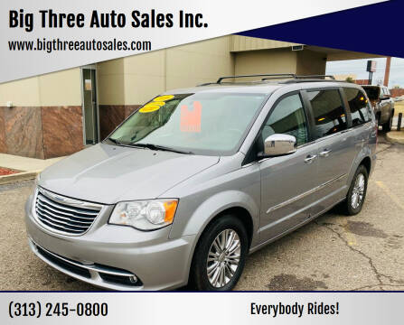 2016 Chrysler Town and Country for sale at Big Three Auto Sales Inc. in Detroit MI