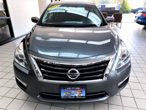 2015 Nissan Altima for sale at SAINT CHARLES MOTORCARS in Saint Charles IL