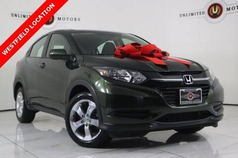 2017 Honda HR-V for sale at INDY'S UNLIMITED MOTORS - UNLIMITED MOTORS in Westfield IN
