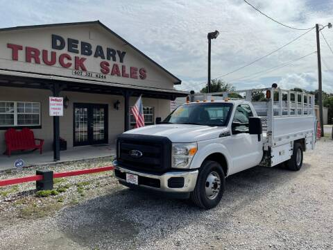 2016 Ford F-350 for sale at DEBARY TRUCK SALES in Sanford FL