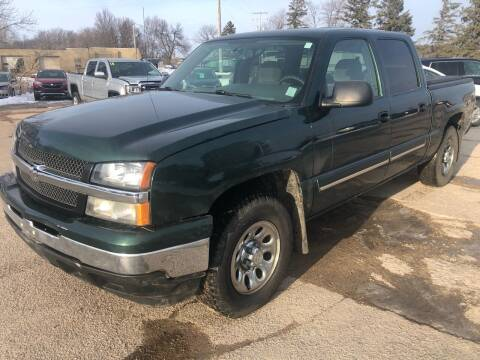 2006 Chevrolet Silverado 1500 for sale at SUNSET CURVE AUTO PARTS INC in Weyauwega WI
