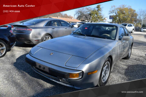 1986 Porsche 944 for sale at American Auto Center in Austin TX