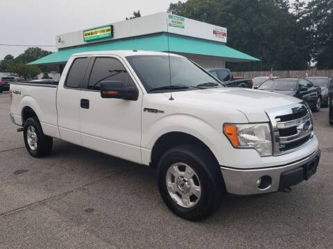 2014 Ford F-150 for sale at Action Auto Specialist in Norfolk VA