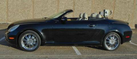 2002 Lexus SC 430 for sale at M G Motor Sports in Tulsa OK