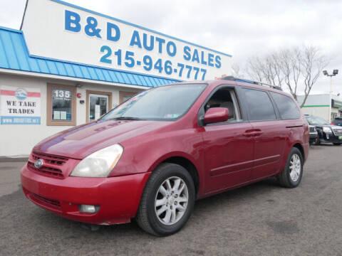 2006 Kia Sedona for sale at B & D Auto Sales Inc. in Fairless Hills PA