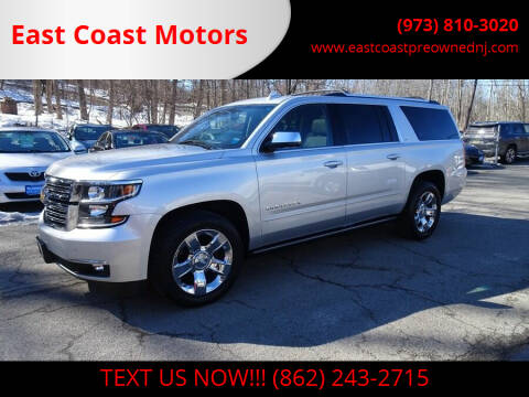 2015 Chevrolet Suburban for sale at East Coast Motors in Lake Hopatcong NJ