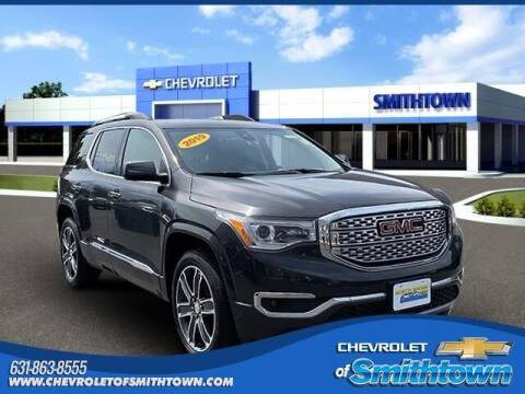 2019 GMC Acadia for sale at CHEVROLET OF SMITHTOWN in Saint James NY