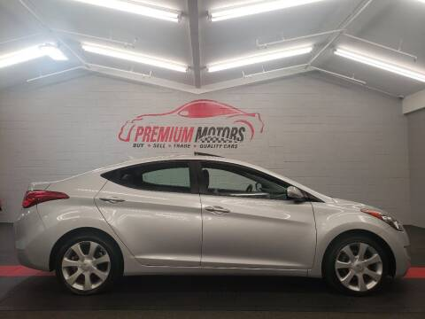 2011 Hyundai Elantra for sale at Premium Motors in Villa Park IL