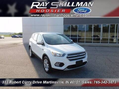 2019 Ford Escape for sale at Ray Skillman Hoosier Ford in Martinsville IN