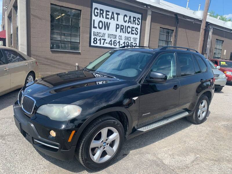 2010 BMW X5 for sale at BARCLAY MOTOR COMPANY in Arlington TX