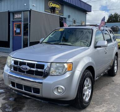2010 Ford Escape for sale at CAR VIPS ORLANDO LLC in Orlando FL