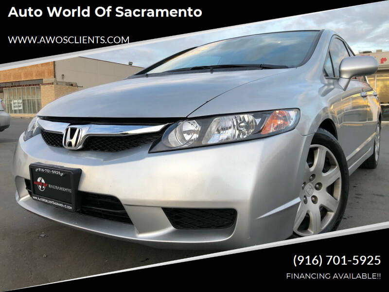 2011 Honda Civic for sale at Auto World of Sacramento Stockton Blvd in Sacramento CA