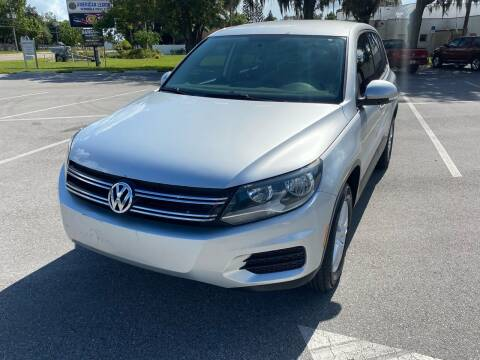 2014 Volkswagen Tiguan for sale at CHECK  AUTO INC. in Tampa FL