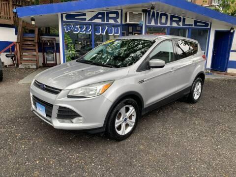 2015 Ford Escape for sale at Car World Inc in Arlington VA