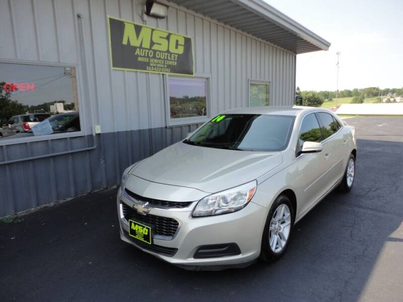 2014 Chevrolet Malibu for sale at Moss Service Center-MSC Auto Outlet in West Union IA