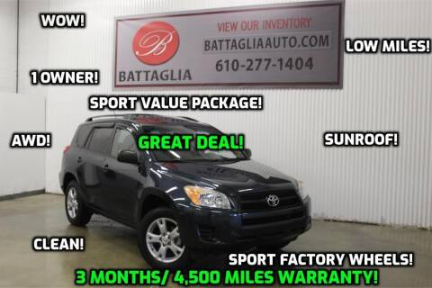 2012 Toyota RAV4 for sale at Battaglia Auto Sales in Plymouth Meeting PA
