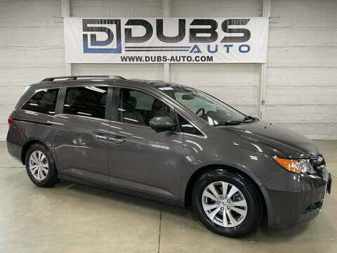 2014 Honda Odyssey for sale at DUBS AUTO LLC in Clearfield UT