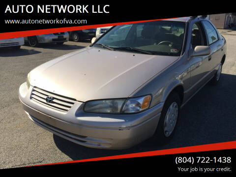1998 Toyota Camry for sale at AUTO NETWORK LLC in Petersburg VA