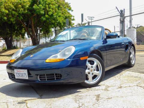 1999 Porsche Boxster for sale at Milpas Motors in Santa Barbara CA