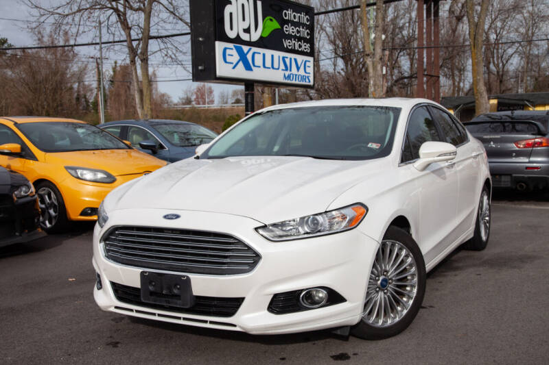 2013 Ford Fusion for sale at EXCLUSIVE MOTORS in Virginia Beach VA