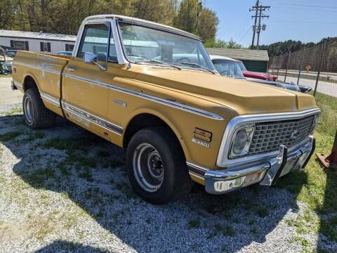 1971 Chevrolet C/K 10 Series for sale at Classic Cars of South Carolina in Gray Court SC