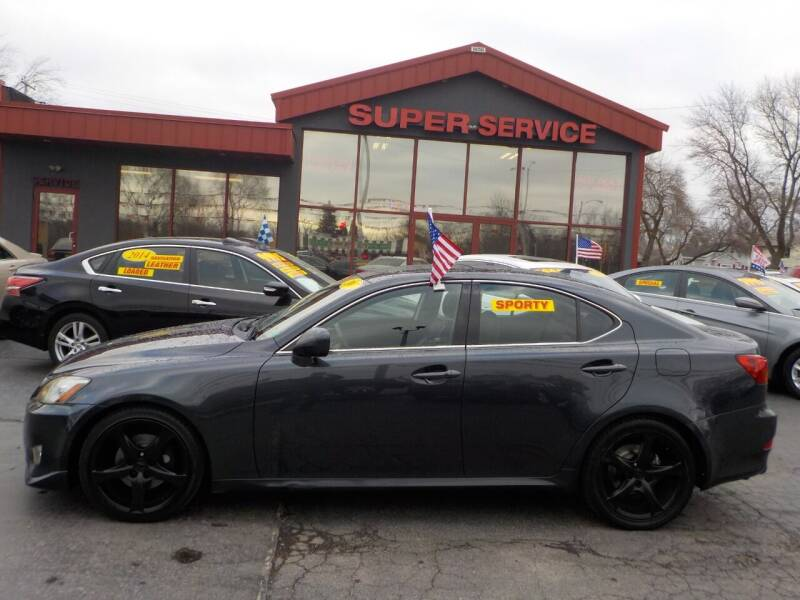 2007 Lexus IS 250 for sale at Super Service Used Cars in Milwaukee WI