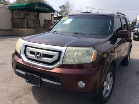 2009 Honda Pilot for sale at OASIS PARK & SELL in Spring TX