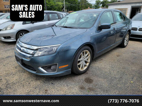 2012 Ford Fusion for sale at SAM'S AUTO SALES in Chicago IL