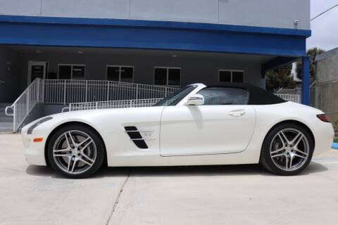 2012 Mercedes-Benz SLS AMG for sale at PERFORMANCE AUTO WHOLESALERS in Miami FL