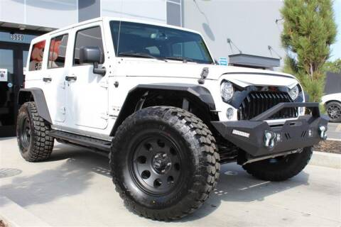 2017 Jeep Wrangler Unlimited for sale at UNITED AUTO in Millcreek UT