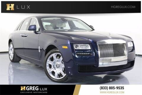 2012 Rolls-Royce Ghost for sale at HGREG LUX EXCLUSIVE MOTORCARS in Pompano Beach FL
