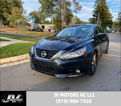 2016 Nissan Altima for sale at JV Motors NC LLC in Raleigh NC