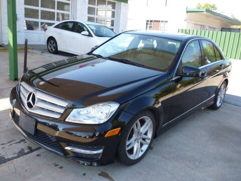 2013 Mercedes-Benz C-Class for sale at Auto Outlet Inc. in Houston TX