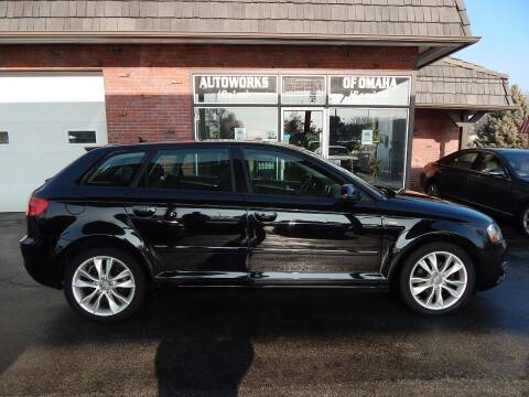 2013 Audi A3 for sale at AUTOWORKS OF OMAHA INC in Omaha NE
