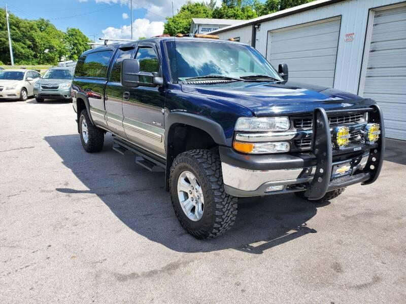 2000 Chevrolet Silverado 1500 for sale at DISCOUNT AUTO SALES in Johnson City TN