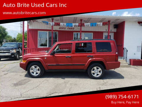 2006 Jeep Commander for sale at Auto Brite Used Cars Inc in Saginaw MI