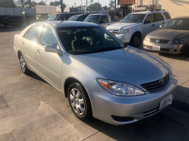 2002 Toyota Camry for sale at OCEAN IMPORTS in Midway City CA