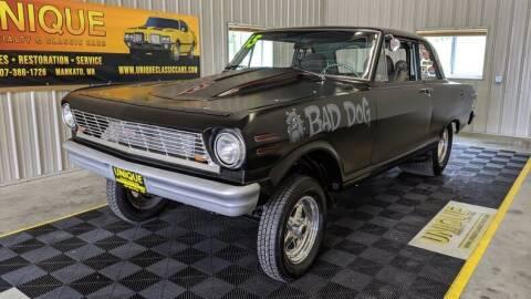 1965 Chevrolet Nova for sale at UNIQUE SPECIALTY & CLASSICS in Mankato MN