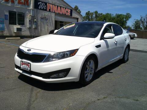 2013 Kia Optima for sale at Empire Auto Sales in Modesto CA