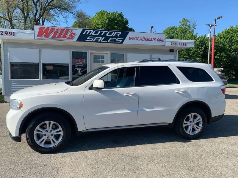 2012 Dodge Durango for sale at Will's Motor Sales in Grandville MI