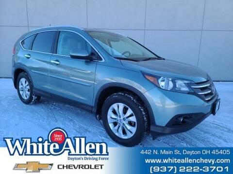2012 Honda CR-V for sale at WHITE-ALLEN CHEVROLET in Dayton OH
